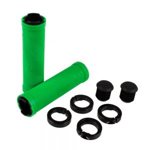 Race Face Sniper Grips w/Lockring Green