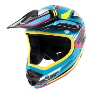 Lazer Phoenix Full Face Helmet Blue/Yellow S