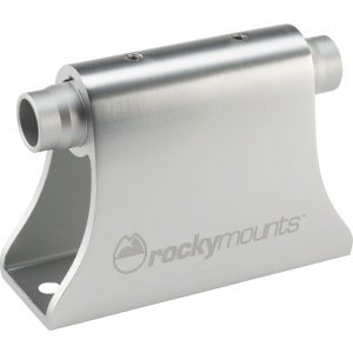 RockyMounts HotRod Thru-Axle Bike Mount: Silver