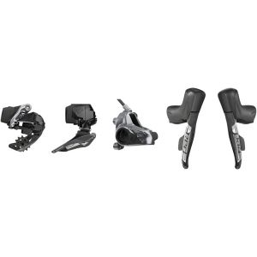 SRAM Red eTap AXS 2x Flat Mount HRD Electronic Groupset: Brake/Shift Levers