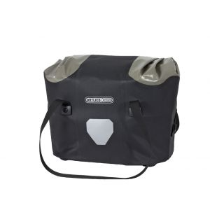 Ortlieb Handlebar Basket Bag Black/Grey