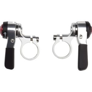 MicroShift Double/Triple 9 speed Thumb Shifters Silver
