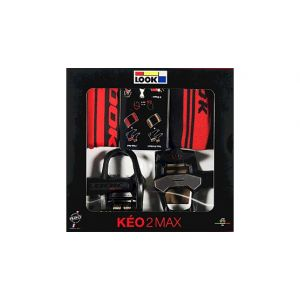 LOOK Keo 2 Max (Accessory Pack L/XL) Pedals Black/Red