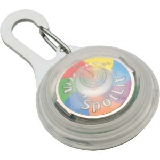 Nite Ize SpotLit Disc-O Safety Light Multi-color LED