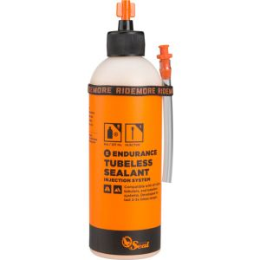 Orange Seal Endurance Tubeless Sealant 8oz with Twist Lock Applicator