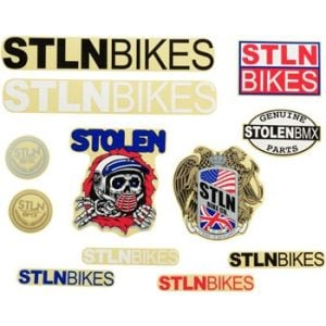 Stolen Sticker Pack 12 Assorted Pcs