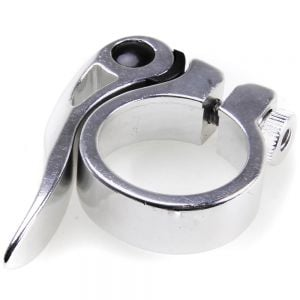 Miche Silver Quick Release Seatpost Clamp - 31.8mm