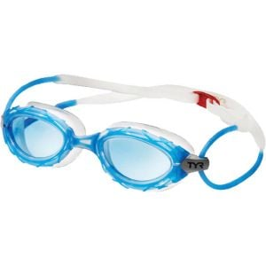 TYR Nest Pro Nano Goggle: Blue Frame/Clear Gasket/Blue Lens