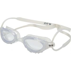 TYR Nest Pro Nano Goggle: Clear Frame/Clear Lens