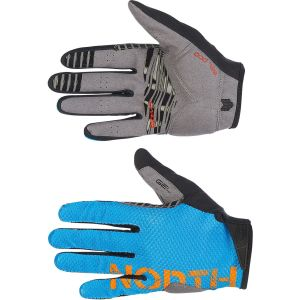 Northwave Blaze Full Glove Blue/Orange M