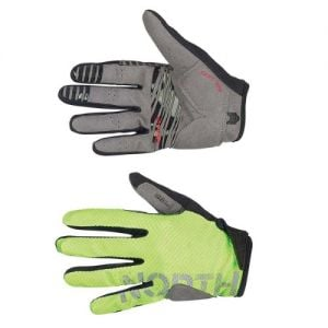 Northwave Blaze Full Glove Green Fluo/Grey S