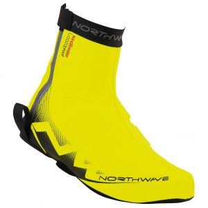 Northwave H2O Shoecover Yellow Fluo