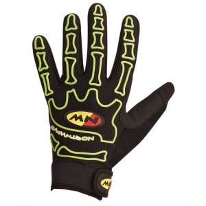 Northwave Skeleton Gloves Green Fluo M