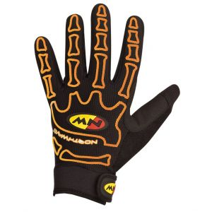 Northwave Skeleton Gloves Orange Fluo M