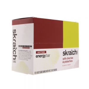Skratch Labs Anytime Energy Bar Cherries & Pistachios 12pack