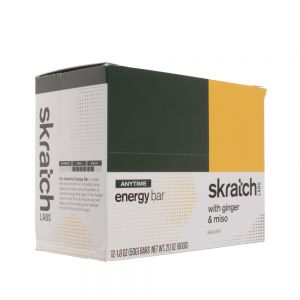 Skratch Labs Anytime Energy Bar Ginger & Miso 12pack