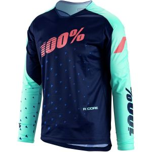 100% R-Core DH Youth Jersey Navy SM