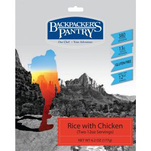 Backpacker's Pantry Rice with Chicken: 2 Servings