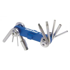 Park Tool IB-2 I-Beam Fold-up Hex Wrench & Star Driver Set