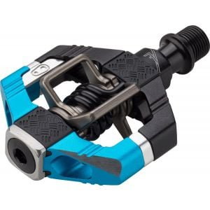 Crank Brothers Candy 7 Pedals: Electric Blue/Black