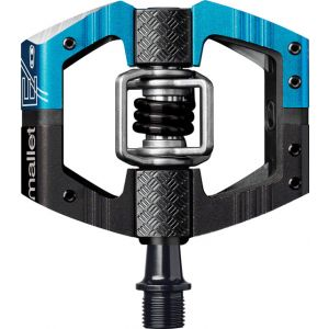 Crank Brothers Mallet Enduro Long Spindle Pedals Blue/Black