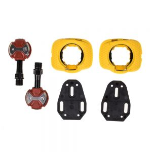 Speedplay Zero Chrome-moly Road Pedals Red
