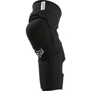 Fox Racing Launch Pro Protective Knee and Shin Guard: Pair Black LG/XL