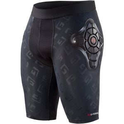 G-Form Pro-X Men's Short: Black/Embossed G LG