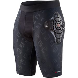 G-Form Pro-X Youth Short: Black/Embossed G, LG