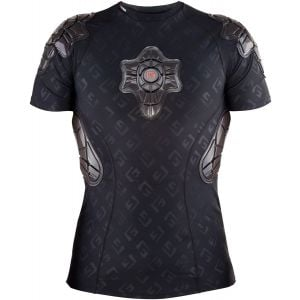 G-Form Pro-X Short Sleeve Shirt: Black/Embossed G SM