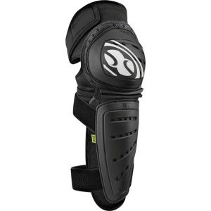iXS Mallet Knee/Shin Guard: Black SM