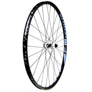 photo- DT Swiss M 1700 Spline 27.5- 15mm Front Wheel blue decals (OEM)_