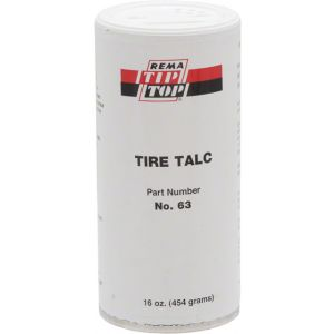 Rema Tire Talc: 16.0oz Canister