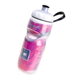 Polar Insulated Water Bottle- 20oz Red