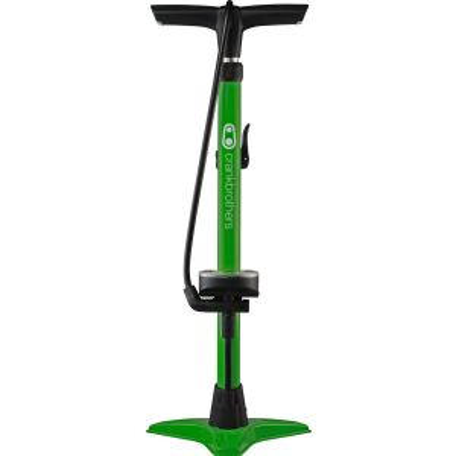 Crank Brothers Gem Floor Pump: Green