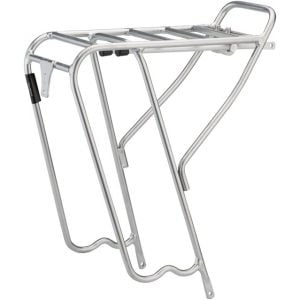 MSW Pork Chop RCR-200 700c Rear Rack Silver