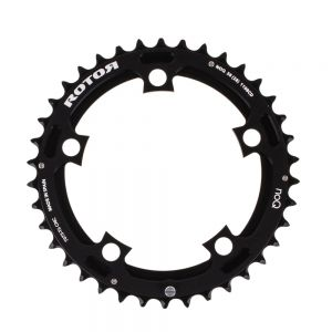 Rotor NoQX2 MTB Chainring 38t 110BCD Outer Black