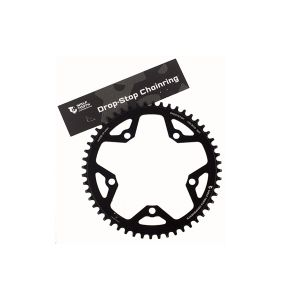 Wolf Tooth 52T 130BCD Drop-Stop Chainring Black