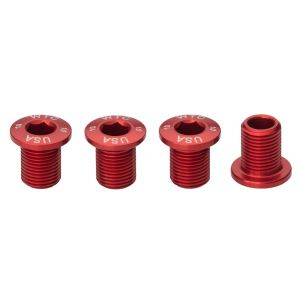 Wolf Tooth Components 30T 10mm Chainring Bolt: Set of 4 - Dual Hex