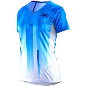 100% Airmatic Women's Jersey: Blue XL