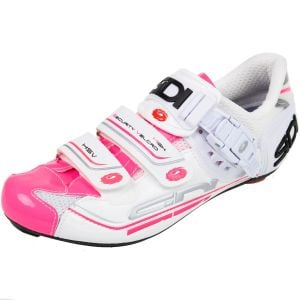 Sidi Genius 7 Women's Road Shoe White/Pink Fluo