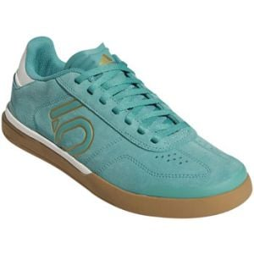 Five Ten Sleuth DLX Women's Flat Shoe: True Green/Chalk White/Cardboard 8