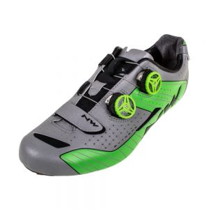 Northwave Extreme Road Shoe Silver/Green
