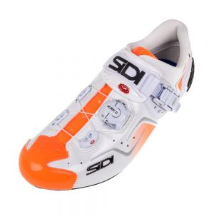 Sidi Kaos Road Shoes White/Orange (Men's Euro 42/US 8.25)