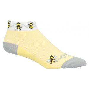 SockGuy Bees Sock: Yellow SM/MD