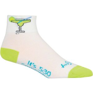 SockGuy Margarita Sock: White SM/MD