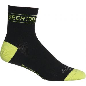 SockGuy Beer:30 Sock: Black LG/XL