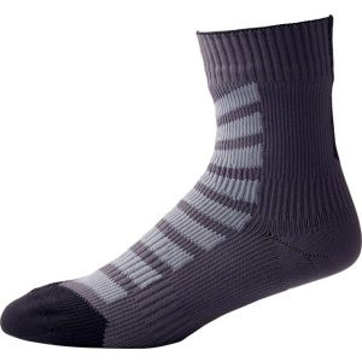 Seal Skinz Thin Mid Hydrostop Sock: Black