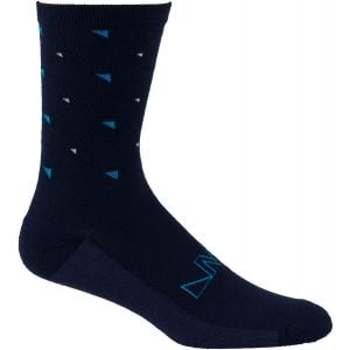 45NRTH Northern Midweight Crew Sock:áBlue SM