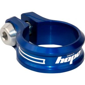 Hope Bolt Seat Clamp 34.9mm Blue